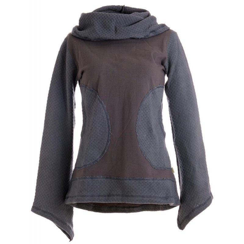vishes damen pullover mit gestricktem schalkragen vishes alternati. Black Bedroom Furniture Sets. Home Design Ideas